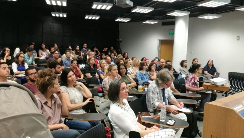 """תמונה ממפגש חוקרים שהתקיים בשנת תשע""""ז"""